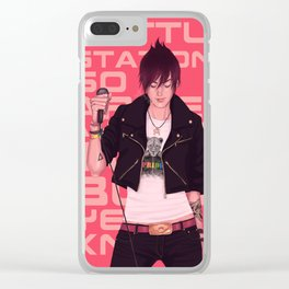 Punk'ed Clear iPhone Case
