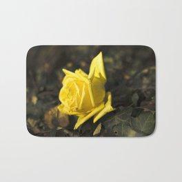Qu'ils mangent de la brioche XII - Yellow Rose Bath Mat