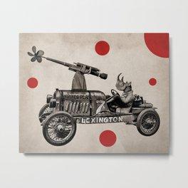 Anthropomorphic N°12 Metal Print