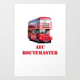 AEC Routemaster London Bus Art Print