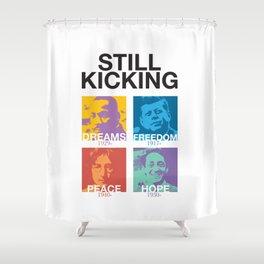 Still Kicking Shower Curtain