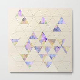 Triangles are the best shape Metal Print