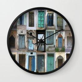 INDIA - Doors of India Wall Clock