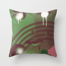 état de siège Throw Pillow
