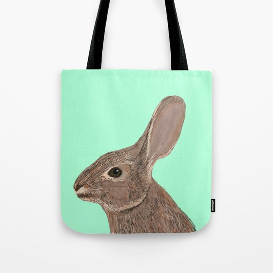 Roger - Bunny, Rabbit, Pet, Cute, Easter, Pet Rabbit, Pet Friendly, Bunny Cell Phone Case Tote Bag