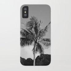 Monochrome Hawaii II Slim Case iPhone X