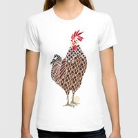 chicken T-shirts featuring Chicken by ArtLovePassion