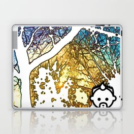 Snowburst by JC LOGAN 4 SB Laptop & iPad Skin