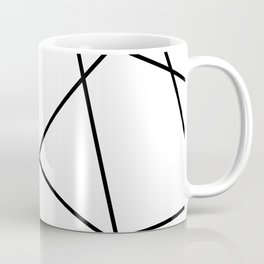 Lines in Chaos II - White Coffee Mug