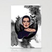 vampire Stationery Cards featuring Vampire by Yasin IŞIK