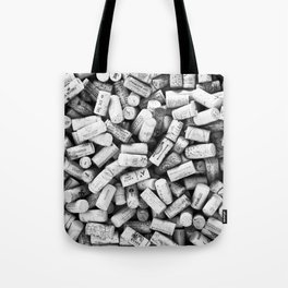Something Nostalgic II Twist-off Wine Corks in Black And White #decor #society6 #buyart Tote Bag