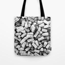 Something Nostalgic II Twist-off Wine Corks in Black And White #decor #society6 #buyart Tote Bag