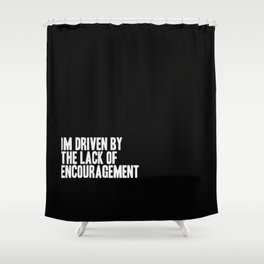 Driven Shower Curtain