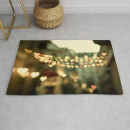 Looking for Love - Paris Photography Rug