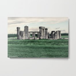 Stonehenge 2005 Metal Print