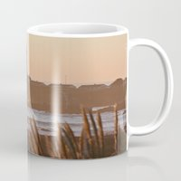 lighthouse Mugs featuring Lighthouse by Kim Ramage