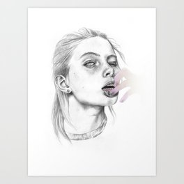 braces Art Print