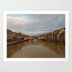 Ponte Vecchio Italy Art Print