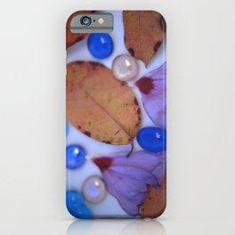 AUTUMN PETALS & GLASS 2 iPhone Case