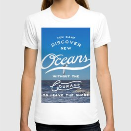 Discover New Oceans T-shirt