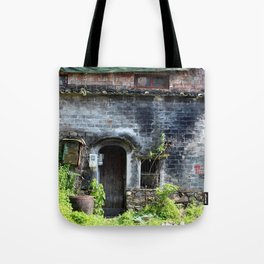 Front of an Old Chinese Home Tote Bag
