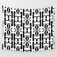 fancy Wall Tapestries featuring Fancy 5 by Geryes