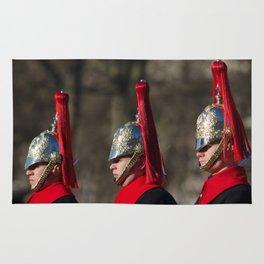 Blues and Royals Life Guards Rug