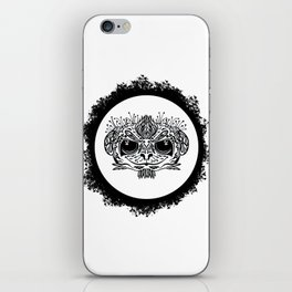 Half Evil Wild Monkey iPhone Skin