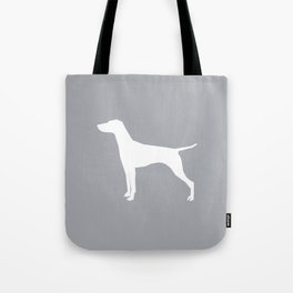 Vizsla minimal basic grey and white dog art dog breed pet portraits dog breeds Tote Bag