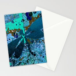Dragonfly Blue Stationery Cards