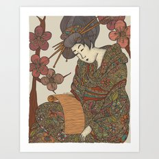Masamiosa Art Print