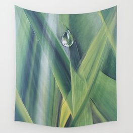 A drop of water Wall Tapestry