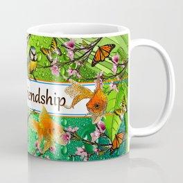 Birdy & Fishy spring green Coffee Mug