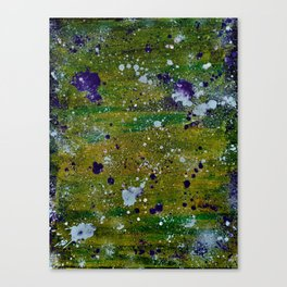 Color Splat Canvas Print