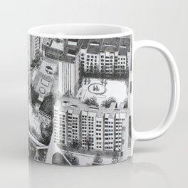 Graphic art, urban, city Coffee Mug