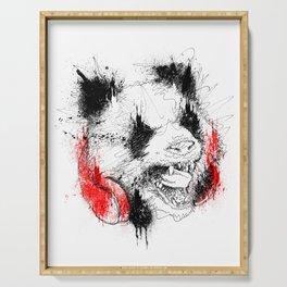 Panda Roar Scratch Serving Tray