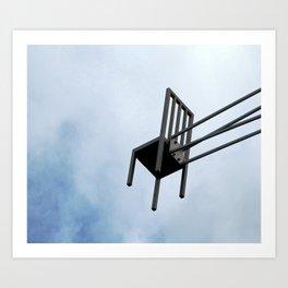 Airchair Art Print