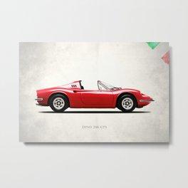 Dino 246 GTS Metal Print