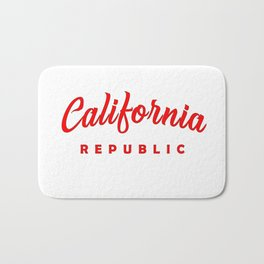 Golden State California Republic Bath Mat