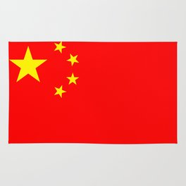 Chinese Flag Sticker & More Rug