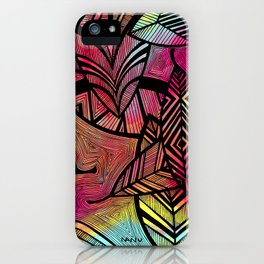 Crazy Leaves  iPhone Case