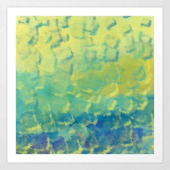 Watercolor Splash #1 #art #society6 Art Print