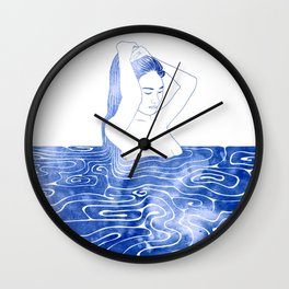 Nereid VIII Wall Clock
