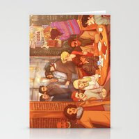 grantaire Stationery Cards featuring Les Misérables: A Group Which Almost Became Historic by batcii