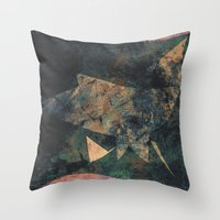 moby Throw Pillows featuring Whale Moby by Fernando Vieira