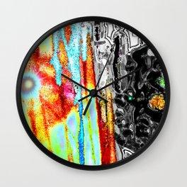 Black Diamond Soul Maze Wall Clock