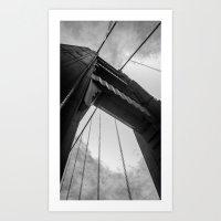 San Francisco Bridge / Golden Gate Bridge Art Print
