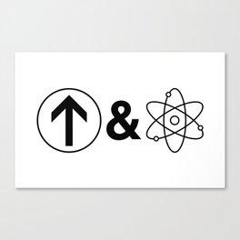 Up&Atom. Canvas Print