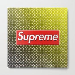 Supreme LV Metal Print