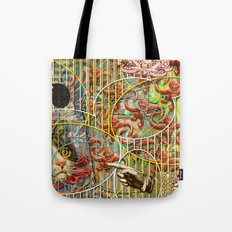 Prioritizing the Preservation of Favoured Struggles: Our Mesmerizing Bucket of Worms (2) Tote Bag